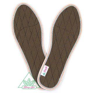Lót giày Quế Lưới 1 lớp CI-05 khử mùi hôi chân giúp êm chân ấm chân phòng cảm cúm cải thiên sức khỏe giá sỉ