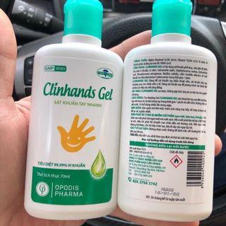 Gel sát khuẩn Clinhands Gel 70ml giá sỉ