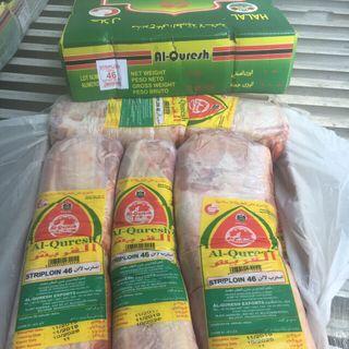 Striploin - Thăn ngoại Thịt trâu đông lạnh giá sỉ giá sỉ