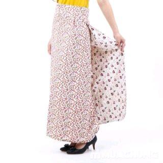 váy chống nắng dạng quần 2 lớp có nơ và túi giá sỉ