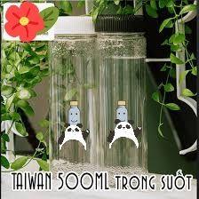 155 chai nhựa pet ống 500ml trong giá sỉ