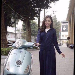 Áo khoác và váy chống nắng dạng quần bằng thun siêu mát giá sỉ