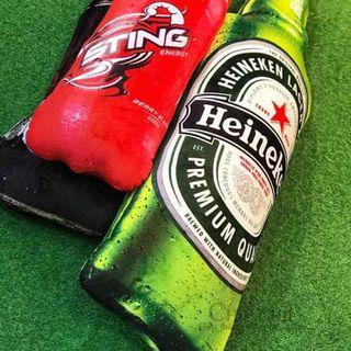 Gối ôm 3D bia & nước ngọt giá sỉ
