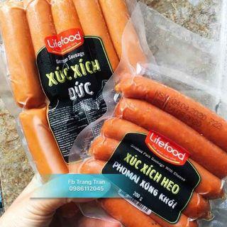 Xúc Xích Đức Lifefood 500g giá sỉ