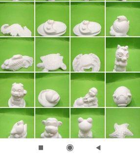 Tranh cát và tượng thạch cao hơn 100 mẫu mới Sỉ lẻ tượng thạch cao tranh cát tượng thạch cao tô màu giá sỉ