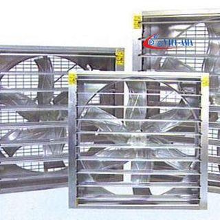 Quạt thông gió công nghiệp cánh inox thông gió làm mát nhà xưởng trong ngành công nghiệp may mặc, giày da tại Bắc Ninh giá sỉ