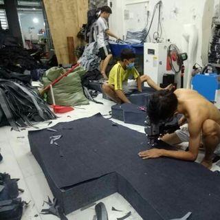 Xưởng may quần jean giá sỉ