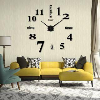 Đồng hồ treo tường tráng gương xen chữ (loại lớn) - TUHFUI898949 giá sỉ