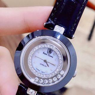 Đồng hồ nữ ROYAL CROWND GỐM SỨ giá sỉ