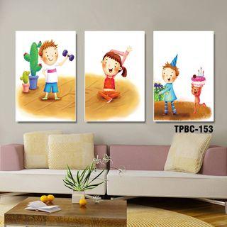 Khung tranh Canvas cho bé yêu TPBC-153 giá sỉ
