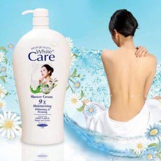 Sữa Tắm Dê White Care 9X 1200ml giá sỉ