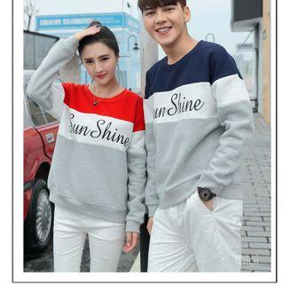 Áo sweater đôi in chữ đẹp giá sỉ