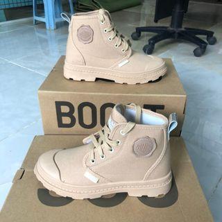 Giày Boot nữ cao cổ - nâu giá sỉ