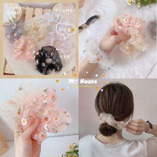 Cột tóc scrunchies hoa cúc giá sỉ