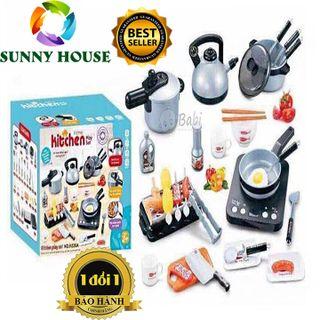 [ ] Bộ nấu ăn 36 món, bộ đồ chơi trẻ em - Sunny Houyse giá sỉ