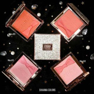 Phấn má hồng Sivanna Colors Diamond Rose HF4027 10g giá sỉ