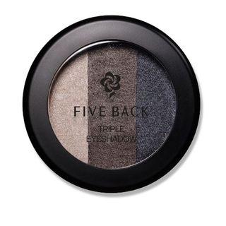 [Hàn Quốc] Phấn mắt phối 3 màu Five Back Triple Eyeshadow #04 Smokey Glam – Xám khói (3g) giá sỉ