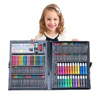 Hộp bút chì màu 168 món cho bé-hggd giá sỉ