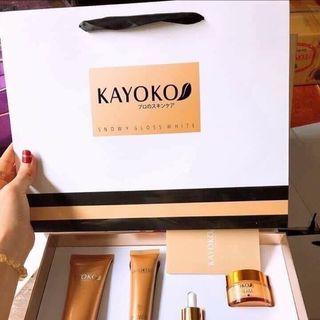 Set kem kayoko vàng 5 món ( kèm túi và giấy) giá sỉ