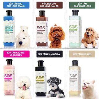 Sữa tắm SOS cho chó mèo giá sỉ