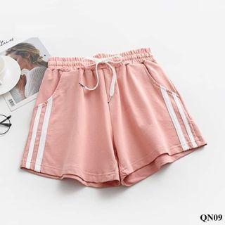Quần short nữ vải cotton mềm mại, giá xả kho - MÀU HỒNG giá sỉ