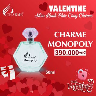 Nước hoa charm Monopoly 390k giá sỉ