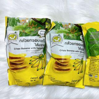 Chuối sấy kẹp me Thái Lan 90gram giá sỉ