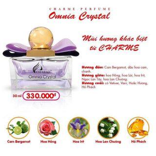 Nước hoa charm omnia crystal giá sỉ