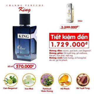 Nước hoa charm king 570k giá sỉ
