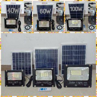 Đèn năng lượng mặt trời 100w giá sỉ