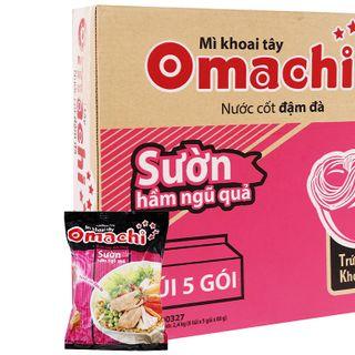 Mì Omachi khoai tây Sườn gói 80g x 30 gói giá sỉ