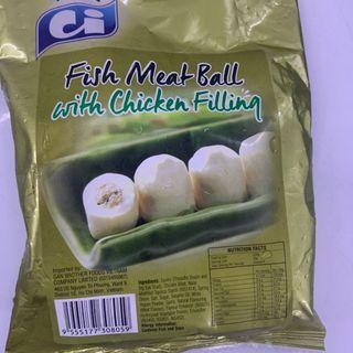 cá viên nhân thịt gà 1kg giá sỉ
