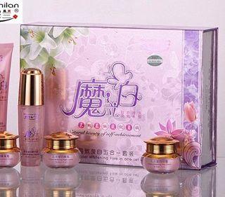 Bộ Hoàng cung hồng cao cấp ( kèm túi và set 3 hũ test) giá sỉ