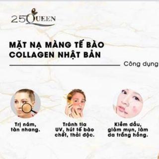 Mặt nạ màng tế bào trị nám và tái tạo collagen 25 Queen giá sỉ