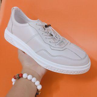 Giày sneaker da nam dây nút giá sỉ
