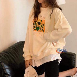 Áo Sweater Hoa Hướng Dương giá sỉ