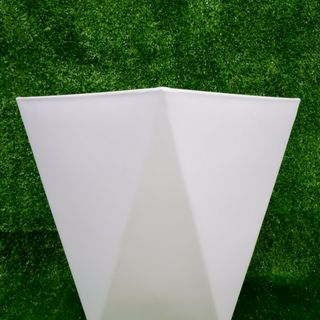 Chậu Cây Vuông Vạt Cạnh Giả Sứ (28x34.5x16.5cm) -Trồng Cây Kiểng/Cây Ăn Trái giá sỉ