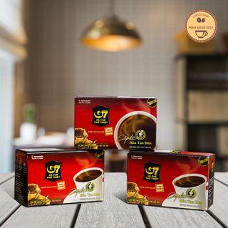 Cà phê G7 - Hoà tan đen Trung Nguyên giá sỉ