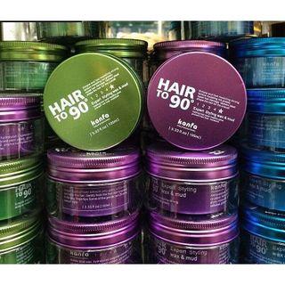 Wax vuốt tóc Hair to 90 Kanfa 100ml giá sỉ