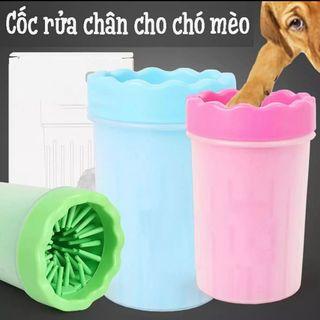 Cốc rửa chân cho chó - phụ kiện dành cho thú cưng giá sỉ