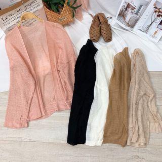 Áo cardigan len móc thêm màu mới giá sỉ