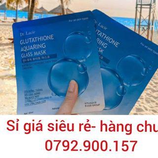mặt nạ Glutathione thủy tinh căng bóng – Dr. Lacir giá sỉ