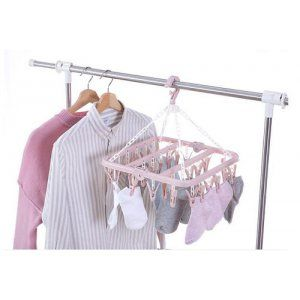 Móc TRÙM phơi quần áo 32 kẹp giá sỉ