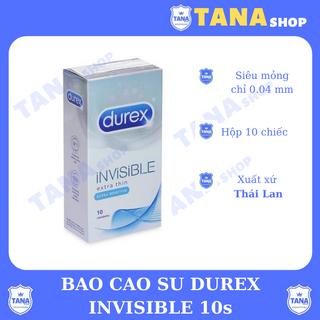 Bao cao su Durex INViSIBLE 10s Siêu mỏng giá sỉ