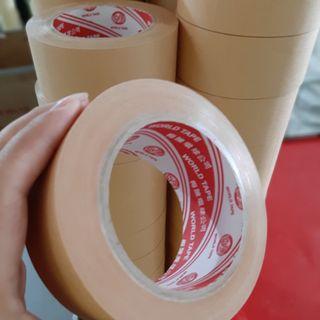 Băng keo giấy nâu (da bò) giá sỉ