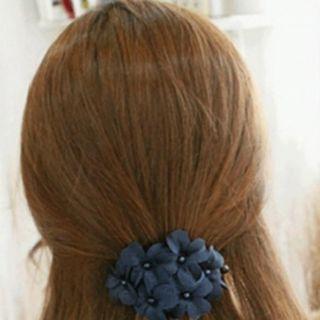 Kẹp tóc hoa màu xanh dương giá sỉ
