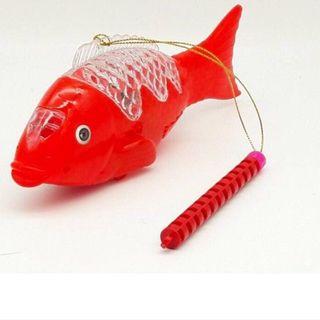 Lồng đèn cá phát sáng có nhạc giá sỉ
