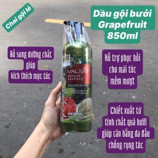 Dầu gội bưởi trị tụng tóc, kích mọc tóc chai lẻ grapcefruit 850ml giá sỉ