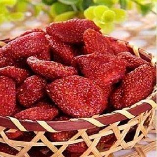 Dâu tây đà lạt sấy dẻo KHÔNG ĐƯỜNG Nutfarm - Hạt Dinh Dưỡng Organic giá sỉ
