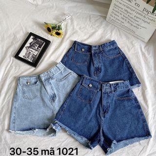 Quần short nữ jean size đại Ms1021 giá sỉ